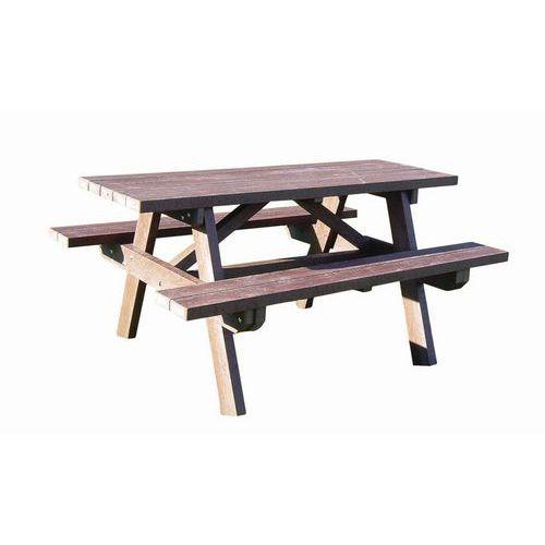 Picknicktafel - Gerecycled kunststof