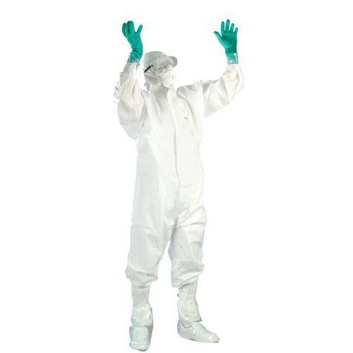 Wegwerpset voor bescherming tegen asbest
