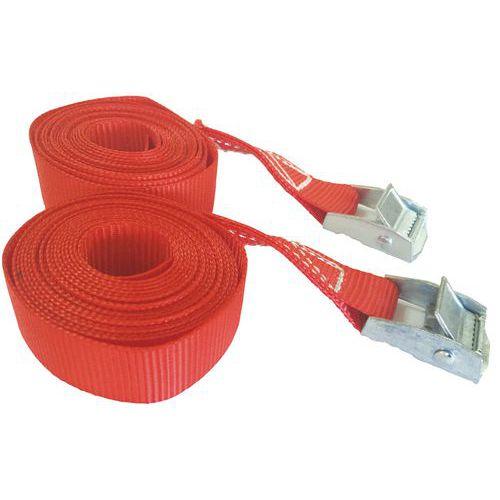 Sjorband - Belasting 250 kg - Met gesp - Manutan