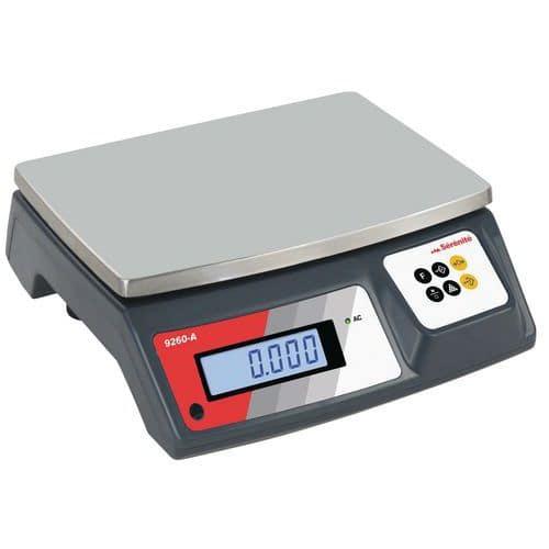 Afbeelding van Compacte afzonderlijke weegschaal met hoge precisie 9260 - capaciteit 3 tot 30 kg