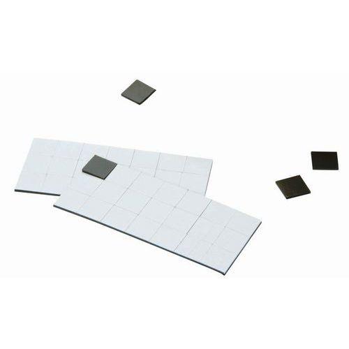 Vierkantige magnetische kleefband