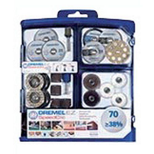 Multifunctionele accessoireset voor Dremel - 70 stuks