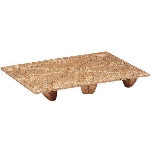 Pallet van houtvezel - breedte 1000 mm