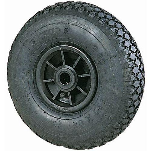 Wiel met noppen voor steekwagen - Draagvermogen 150 tot 250 kg