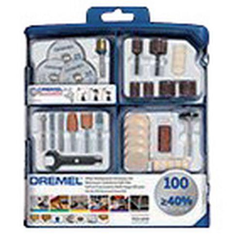 Multifunctionele accessoireset voor Dremel - 100 stuks