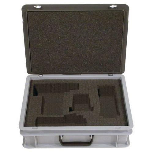 Rako-gereedschapskoffer met klep - Schuimrubber aan binnenzijde - Lengte 300 mm