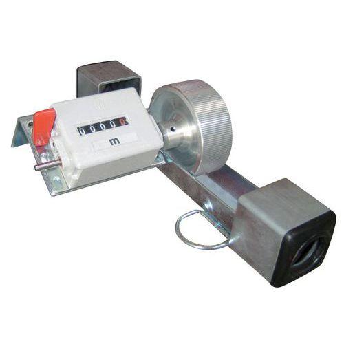 Meterteller voor kabelhaspel- en draadspoelenrek Bobi-Rack
