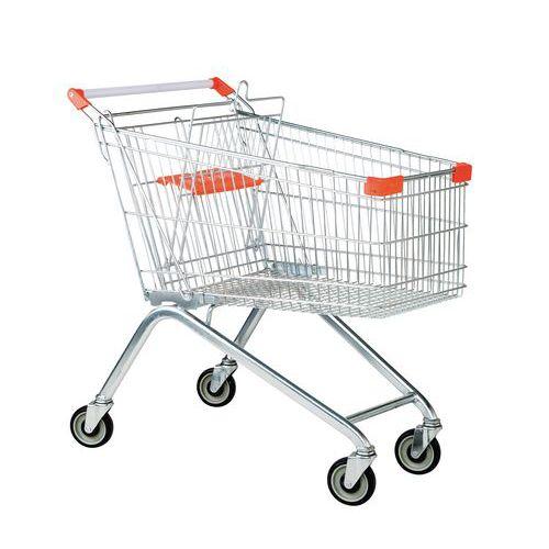 Winkelwagen van draadstaal - Draagkracht 100 kg