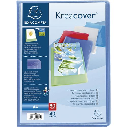 Semi-harde showalbum Kreacover A4