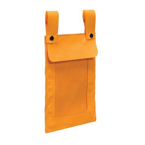 Waterdichte pocket voor rolcontainers