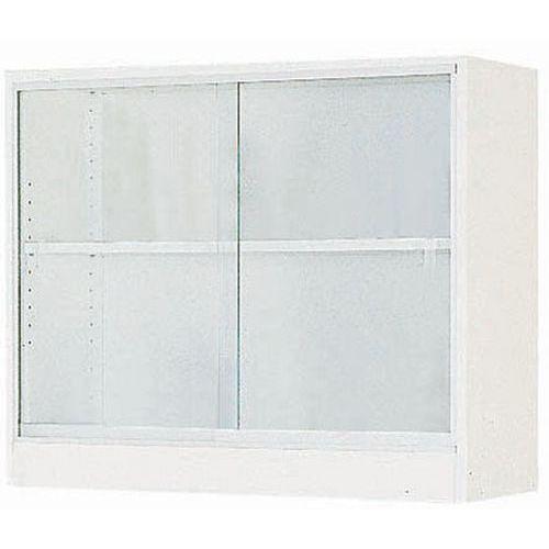 Wandkast - Transparante schuifdeuren