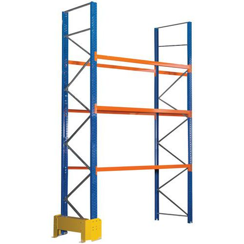 Palletstelling Easy-Rack - epoxy-afwerking - Manorga