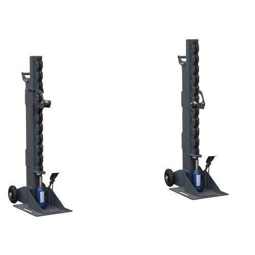 Steunpoten voor hydraulische slijpmachine - Draagvermogen 6000 kg