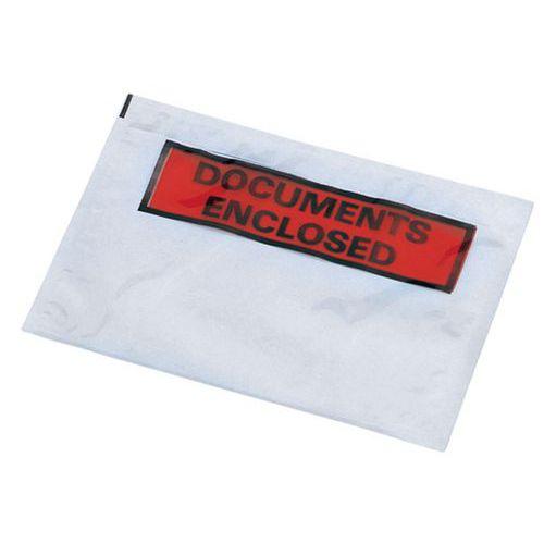 Paklijstenvelop - 'Documents enclosed'