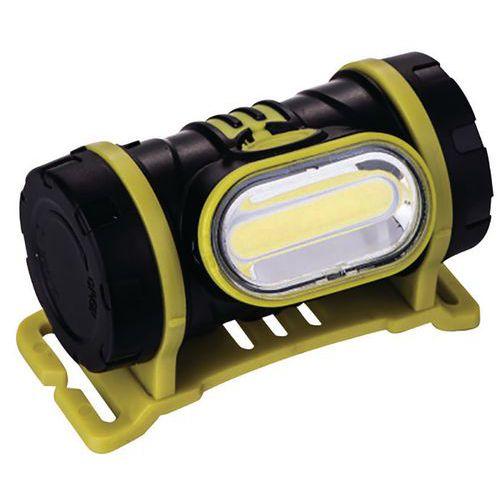 Hoofdlamp 2 W led COB 150 lm 3XAAA