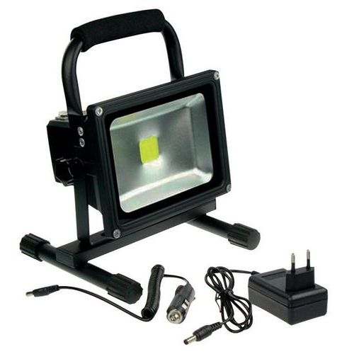 Oplaadbare led-bouwlamp 20 W