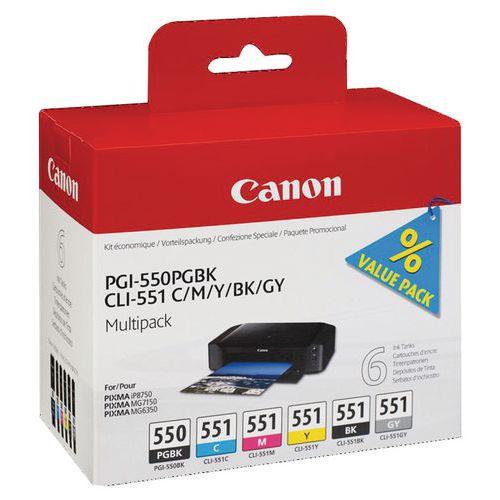 Inktcartridge - PGI-550/CLI-551 - Canon
