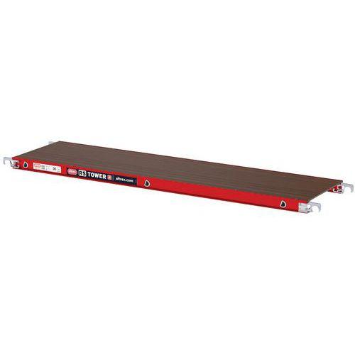 Houten platform 185 met luik voor steiger RS Tower 4 - ALTREX