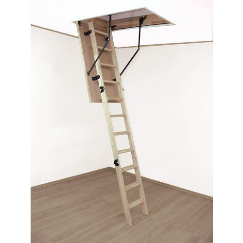 Woodytrex Budget houten zoldertrap - ALTREX