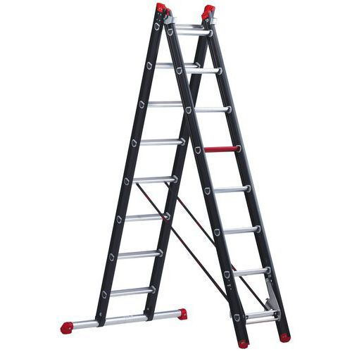 Mounter aluminium ladder
