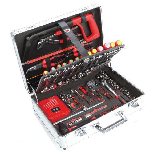 Koffer met meerdere gereedschappen, 145-delig