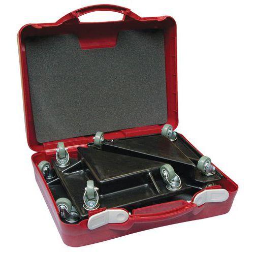 Koffer voor rolhoeken