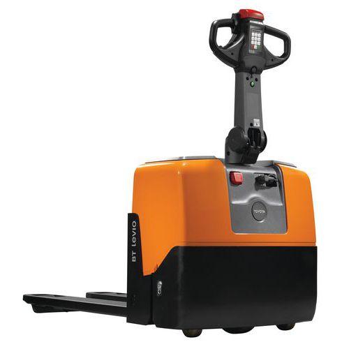 Ergonomische, elektrische pallettruck Toyota 1300 kg - Vork 1150 mm