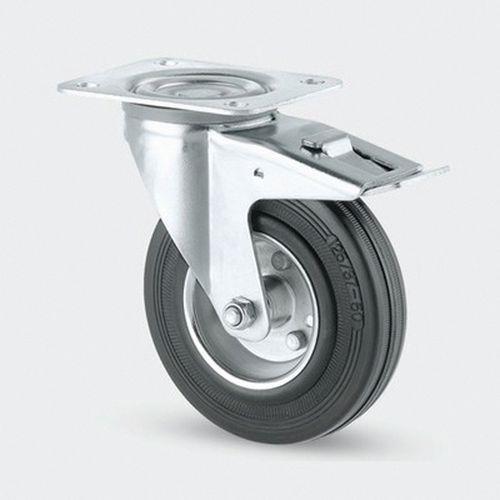 zwenkwiel IND. staalpl. stat.draagverm.140-410 kg.serie 3370