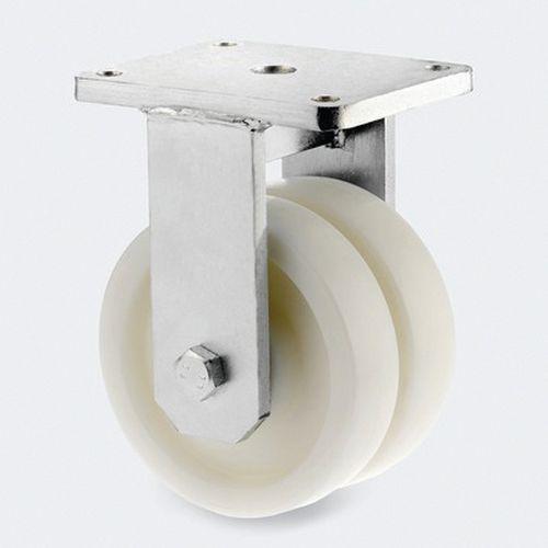 bokwiel, nylon. - stat.draagverm. 1800-15000 kg - serie 9950