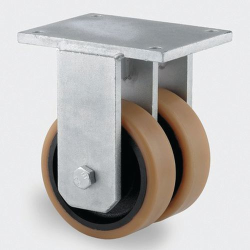 Bokwiel gietijzer. stat.draagverm. 1800-15000kg - serie 9950