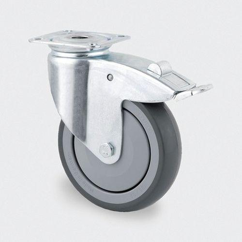 Zwenkwiel, INST. nylon - stat.draagverm. 80-320kg-serie 2470