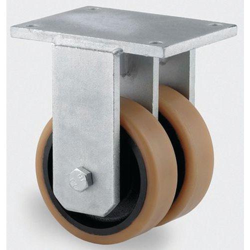 bokwiel staalpl. stat.draagverm. 1800-15000 kg.serie 9950