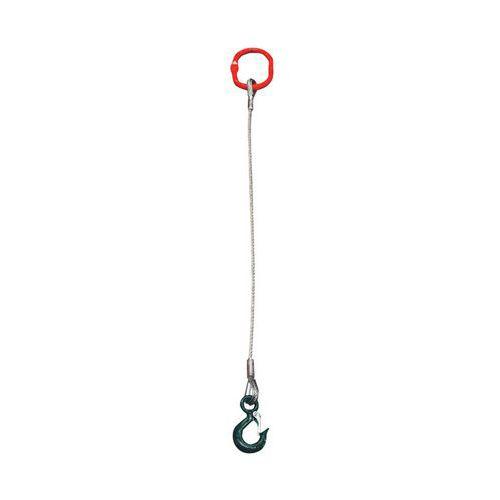 Staalkabelstrop 1-sprong - Type EC - Eerste meter