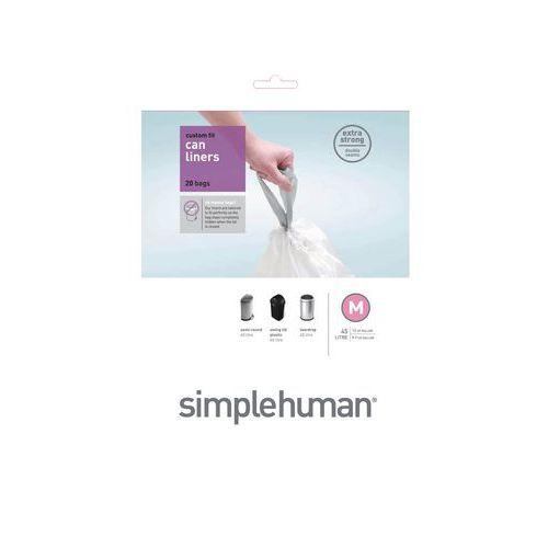 Afvalzakken 45 liter (M) - Simplehuman