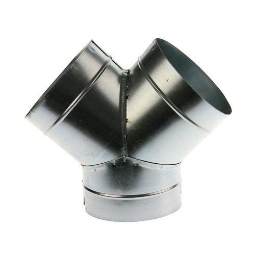 Aftakking van 45° voor ventilatiebuizen - Ø 80 à 125 mm