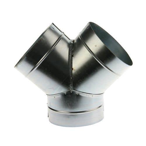 Afbeelding van Aftakking van 45° voor ventilatiebuizen - Ø 80 à 125 mm