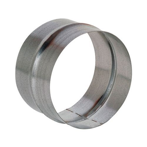 Mannelijke aansluiting voor stevige ventilatiekanalen - Ø 80 tot 125 mm