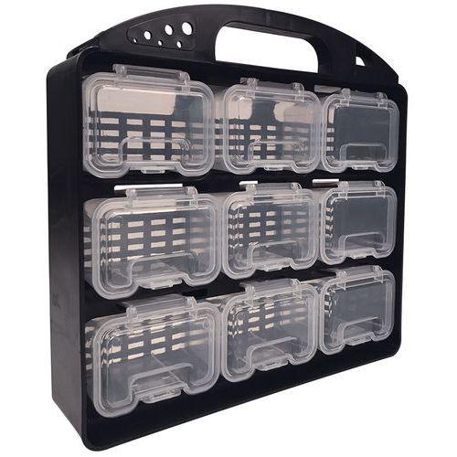 Koffer met inzetbakjes - Manutan