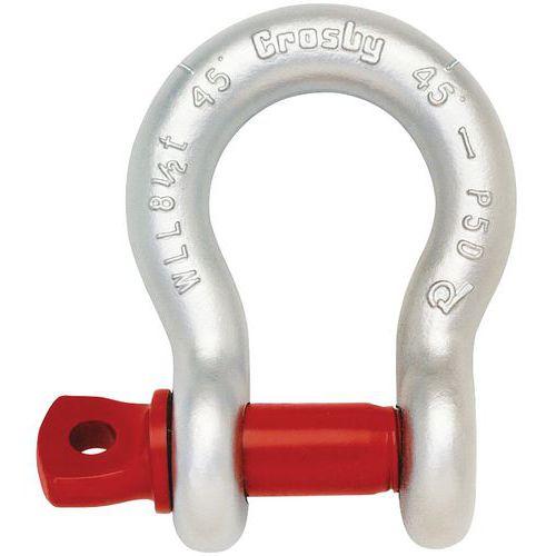 Harpsluiting met geschroefde as, Crosby - draagvermogen 1000 tot 25.000 kg
