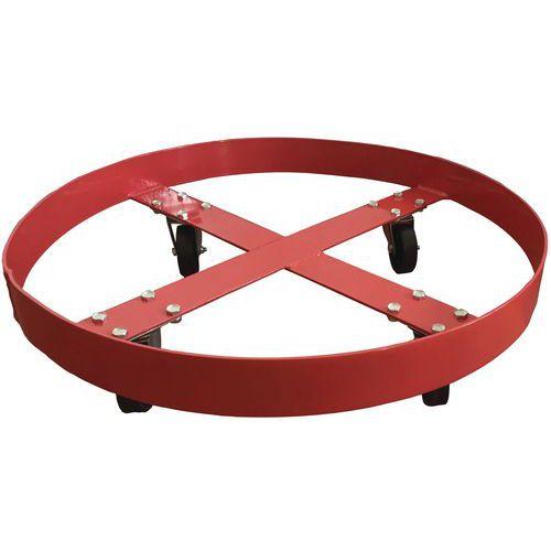 Rolwagen voor vaten - Draagvermogen 410 kg - Manutan