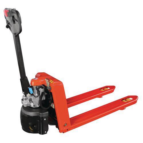 Halfelektrische, ergonomische pallettruck - draagvermogen 1500 kg