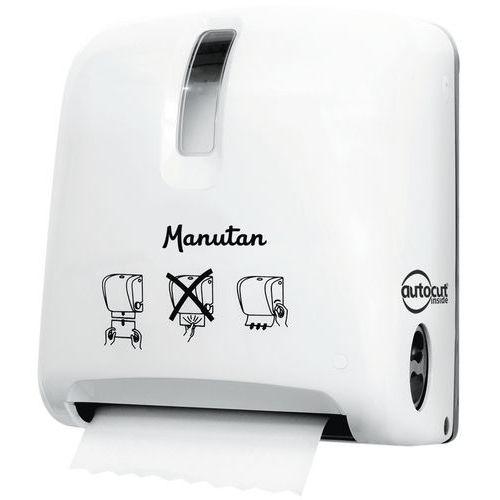 Handdoekdispenser Autocut - Manutan