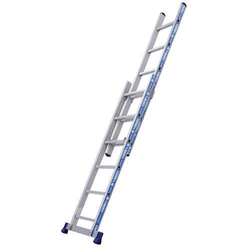 Met de hand uitschuifbare ladder Platinium Afix - 2 delen