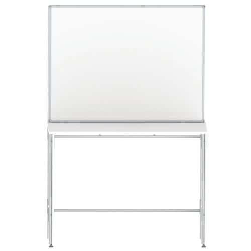 Afbeelding van Tafel met geïntegreerd paneel voor werkplaats
