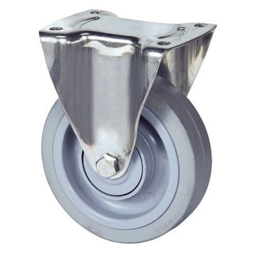 Bokwiel met plaat - draagvermogen 300 en 400 kg
