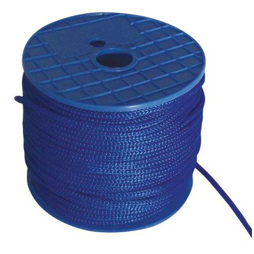 Gekleurd hijstouw - Blauw