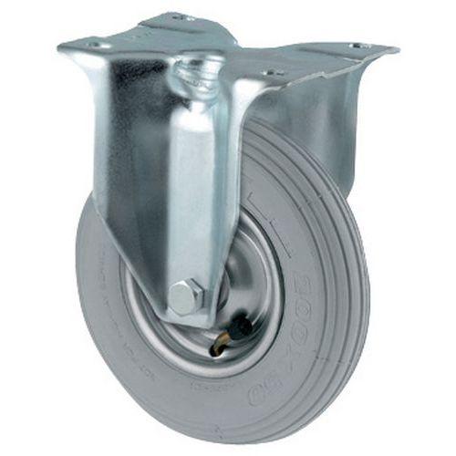 Bokwiel met luchtband - Draagvermogen 75 tot 250 kg