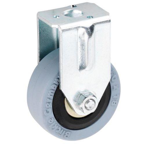 Afbeelding van Bokwiel met boutgat - draagvermogen 40 tot 60 kg