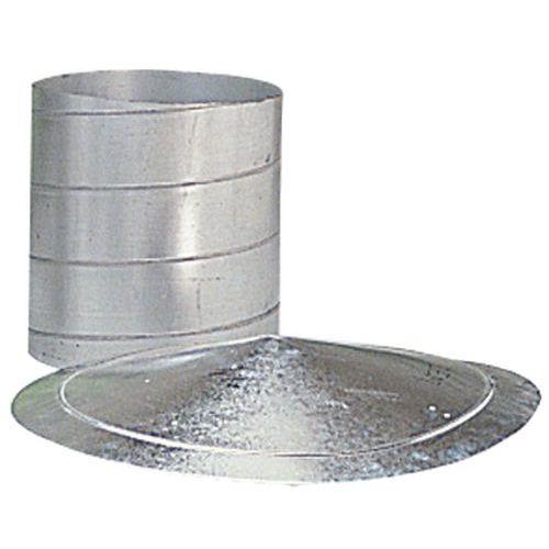 Klemring met enkele draad voor ventilatieslangen - Ø 80 tot 125 mm