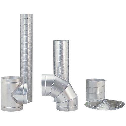 Stevige ventilatiekanalen - Ø 80 tot 125 mm